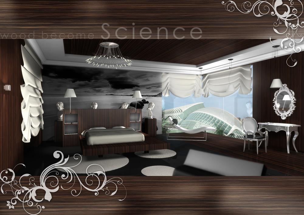Dise os en 3d para habitaciones de hoteles armando decora for Decoracion clasica moderna interiores