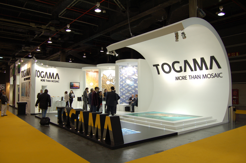 Exhibition Stand Agreement : Cevisama togama more than mosaic armando decora