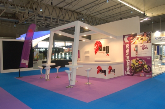 Stand King Energy Alimentaria 2012